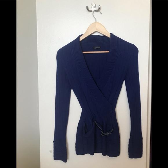 Le Château blue sweater
